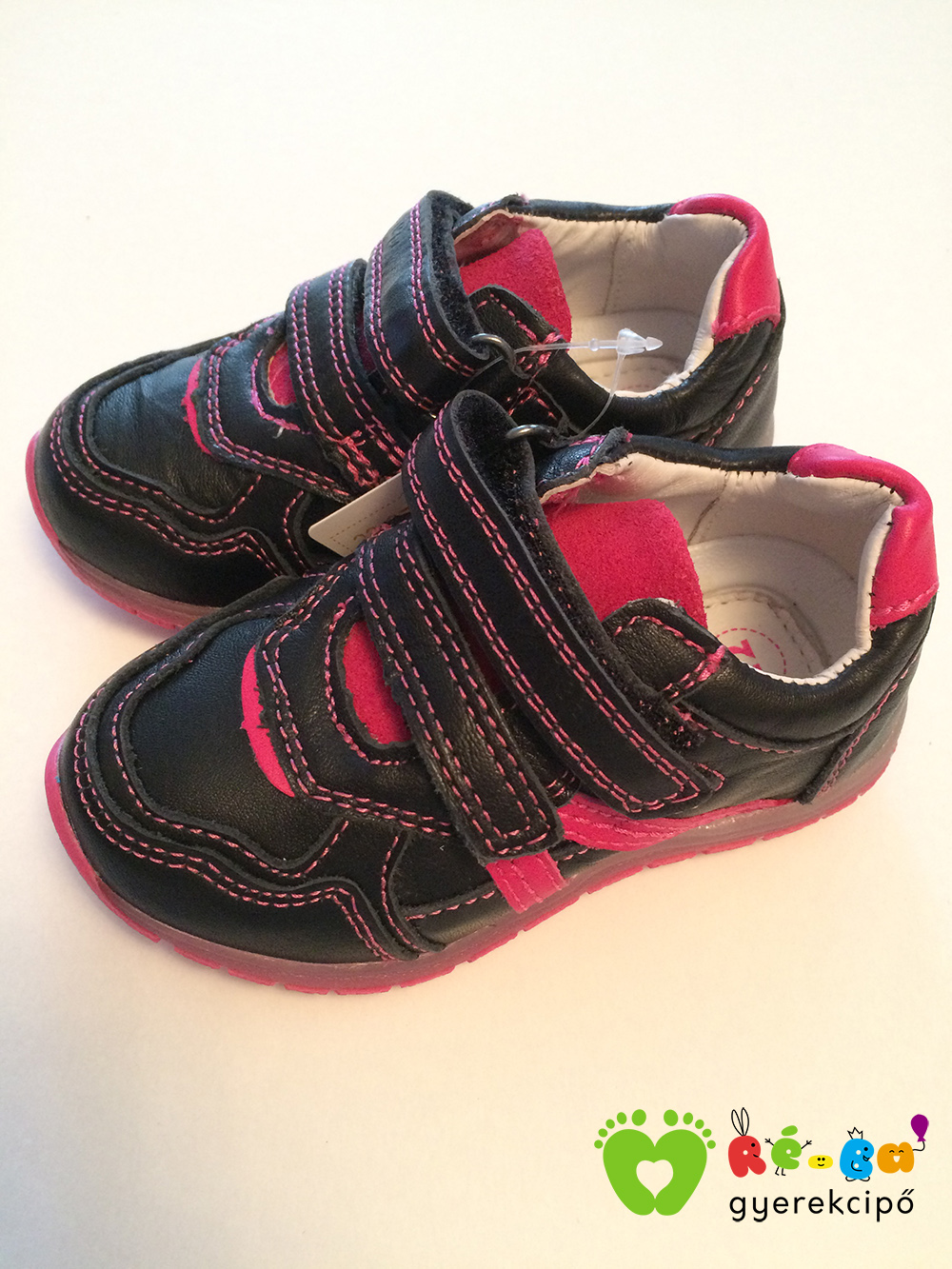 Ponte20 szupinált kislány zárt cipő - nagy méret (fekete) - Ré-Ba ... 8bc831ffd8