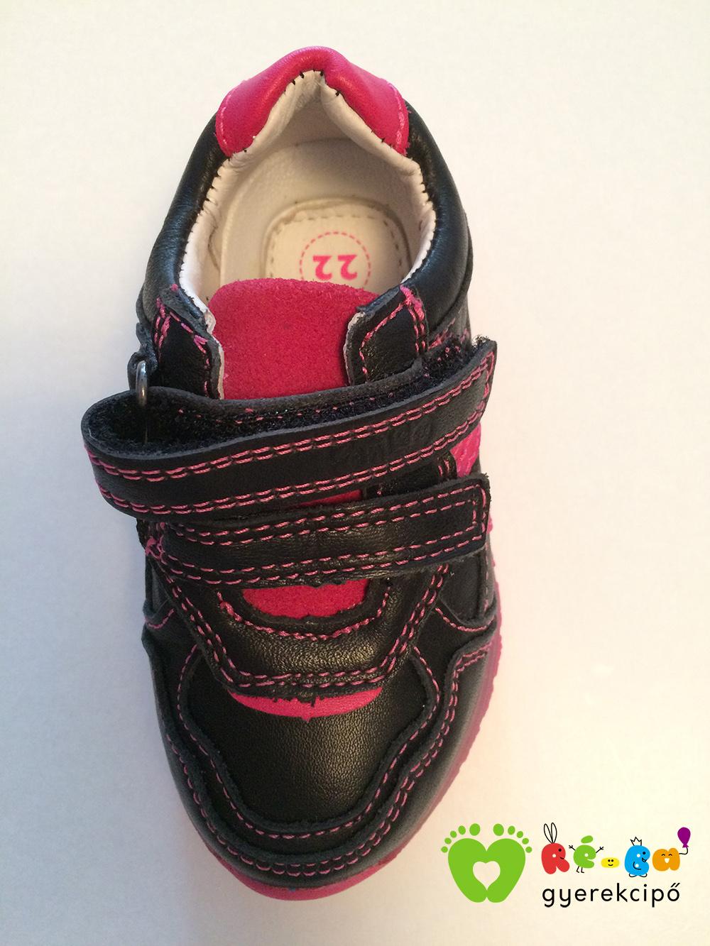 Ponte20 szupinált kislány zárt cipő (fekete) - Ré-Ba Gyerekcipő ... 98557d111c