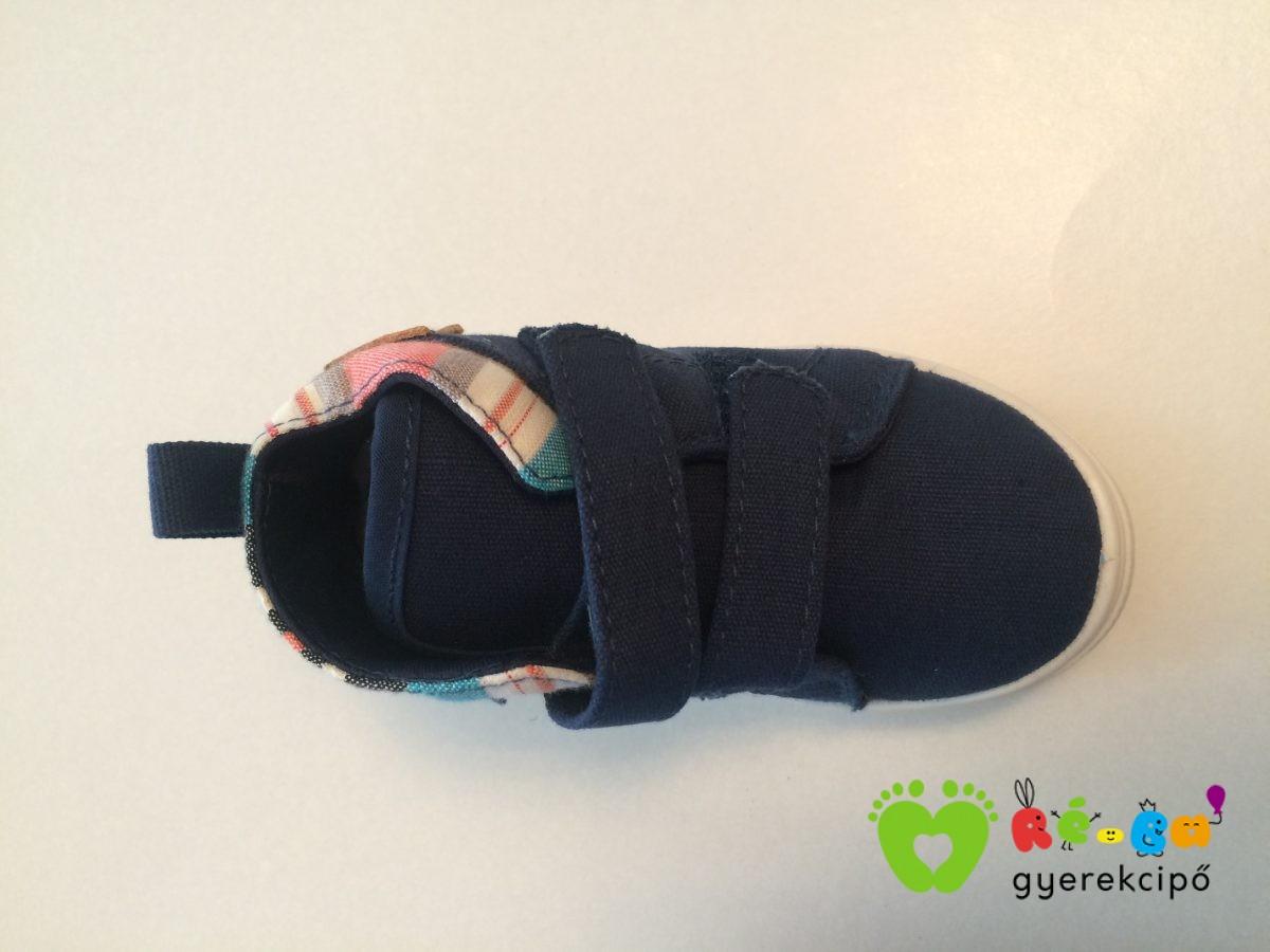 D. D. Step kisfiú vászoncipő (sötétkék focis) - Ré-Ba Gyerekcipő ... a384acd6c8